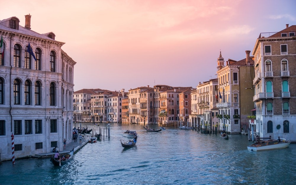 Tourist destinations in Italy
